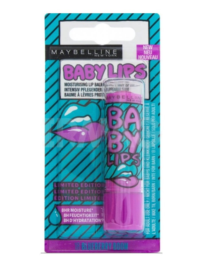 MAYBELLINE BABY LIPS BLUEBERRY BOOM 18