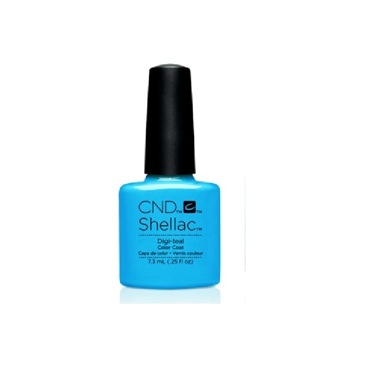 CND SHELLAC DIGI-TEAL 7.3 ML