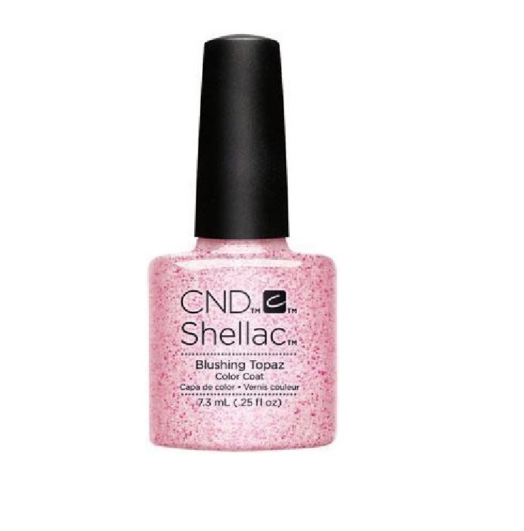 CND SHELLAC BLUSHING TOPAZ 7.3 ML