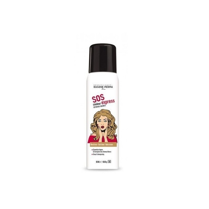 EUGENE PERMA SPRAY RETOQUES RAICES RUBIO OSCURO 100ML