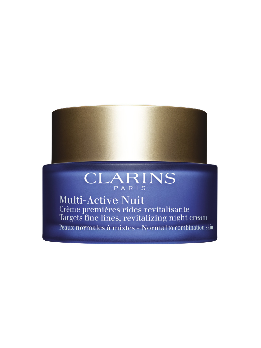 CLARINS MULTI-ACTIVE NOCHE CREMA LIGERA 50 ML P/MIXTAS