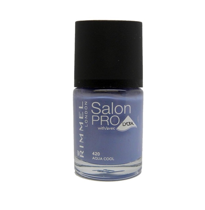 RIMMEL LONDON NAIL POLISH SALON PRO AQUA COOL 420 12ML