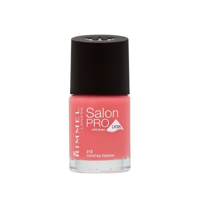 RIMMEL LONDON NAIL POLISH SALON PRO COCKTAIL PASSION 313 12ML