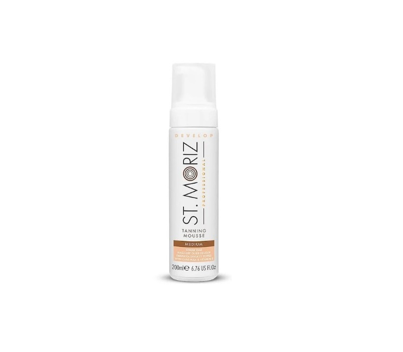 ST MORIZ AUTOBRONCEADOR MOUSSE MEDIUM 200ML