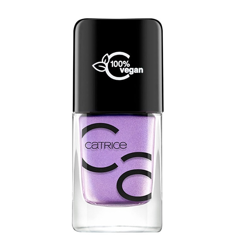 CATRICE ICONAILS GEL LACQUER NAIL POLISH 71 I KINDA LILAC YOU