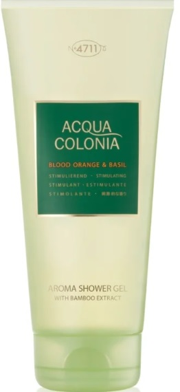 4711 ACQUA COLONIA BLOOD ORANGE & BASIL SHOWER GEL 200ML