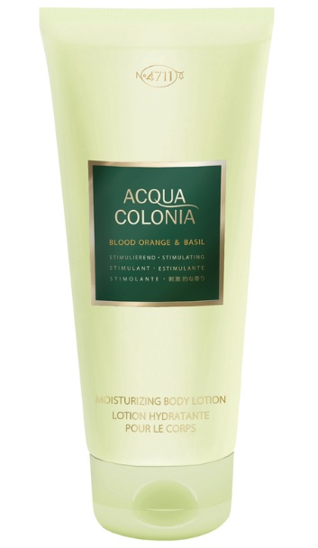 4711 ACQUA COLONIA BLOOD ORANGE & BASIL BODY LOCION 200ML
