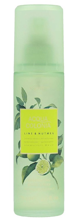 4711 ACQUA COLONIA LIME & NUTMEG BODY SPRAY 75ML