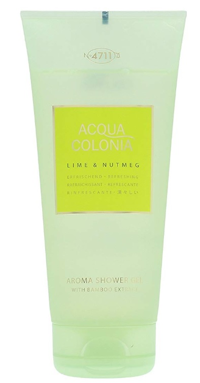 4711 ACQUA COLONIA LIME & NUTMEG SHOWER GEL 200ML