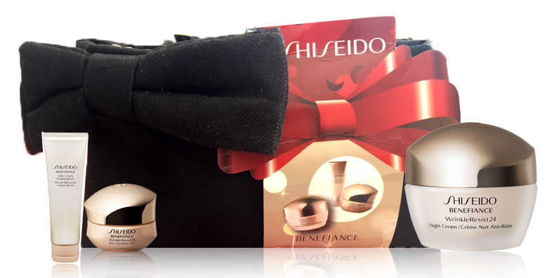SHISEIDO BENEFIANCE WRINKLE RESIST 24 SET REGALO