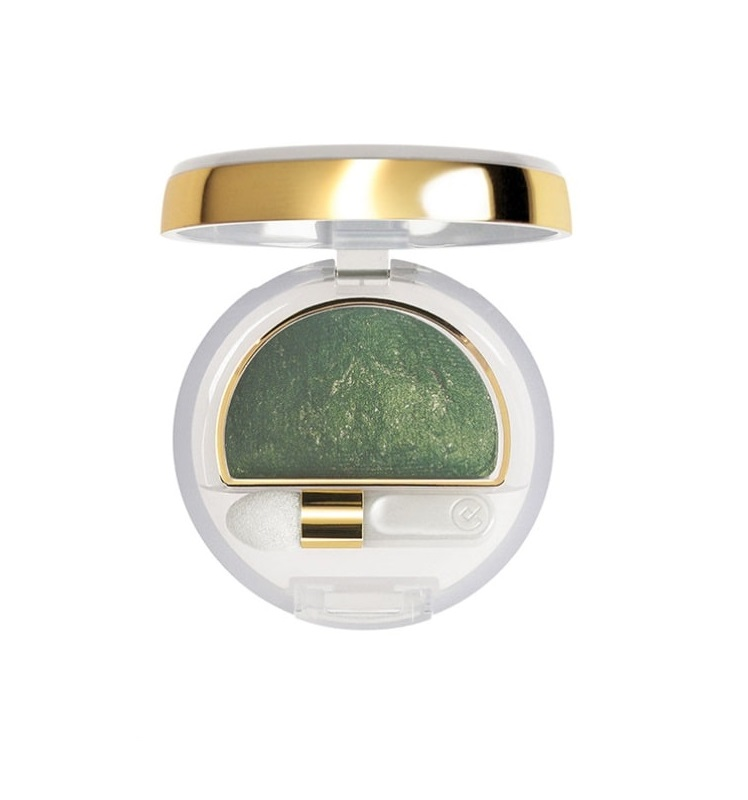 COLLISTAR DOUBLE EFFECT EYESHADOW WET&DRY 10 GOLD GREEN