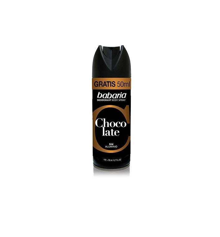 BABARIA MEN DESODORANTE CHOCOLATE SPRAY  200ML