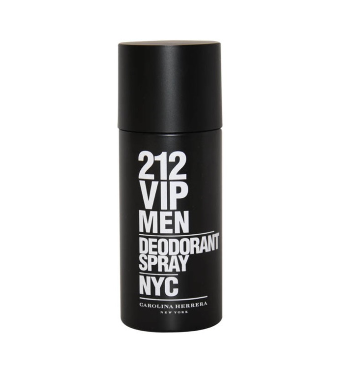 CAROLINA HERRERA 212 VIP MEN DEO SPRAY 150 ML