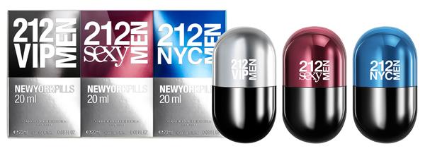 Carolina Herrera CH 212 men Love me Pills set regalo 3 x 20 ml, que ... 6706e2e12d