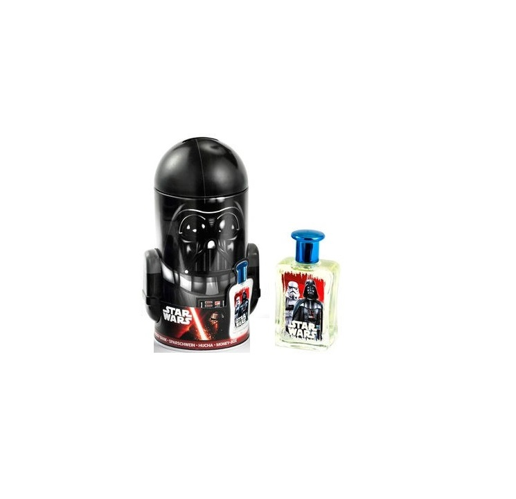 STAR WARS DARTH VADER EDT 50 ML + HUCHA SET REGALO