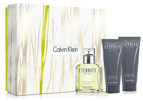 CK ETERNITY FOR MEN EDT 100 ML + GEL 100 ML + A/S BALM 100 ML SET REGALO OFERTA