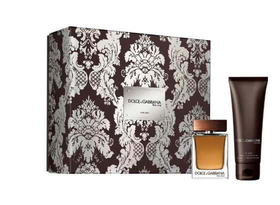 DOLCE & GABBANA THE ONE MEN EDT 50 ML + A/S BALM 75 ML SET REGALO