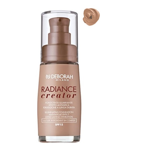 DEBORAH LIQUID FOUNDATION RADIANCE CREATOR 4 APRICOT 30 ML