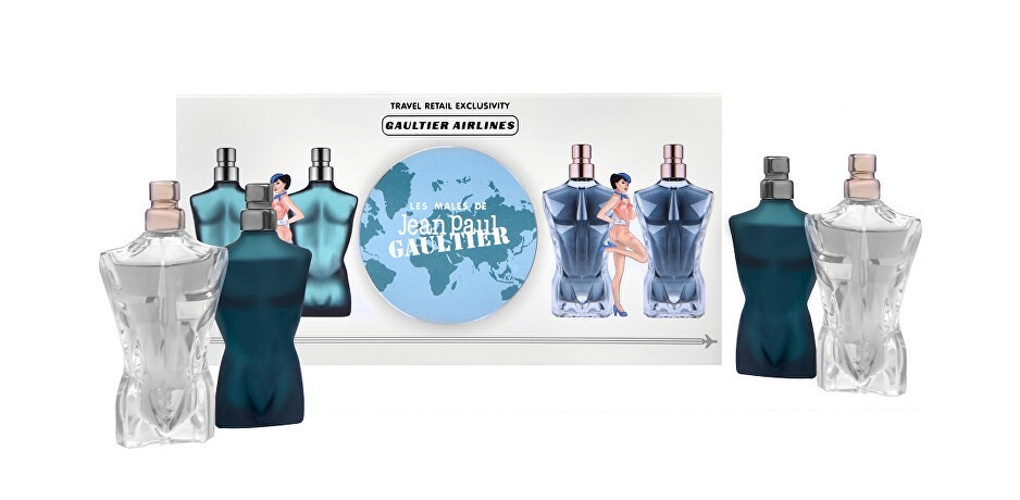 JEAN PAUL GAULTIER LE MALE SET MINIATURAS