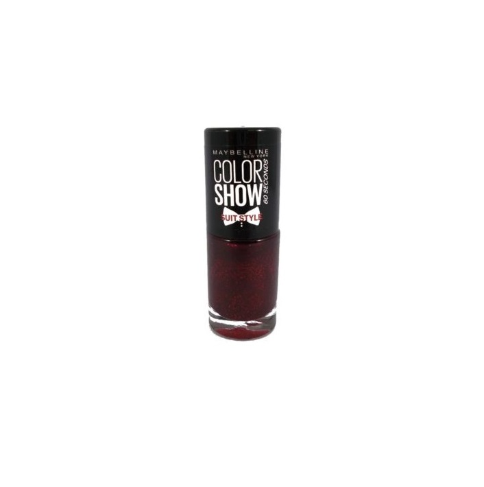 MAYBELLINE COLOR SHOW SUIT STYLE RED REACTION 444 7ML