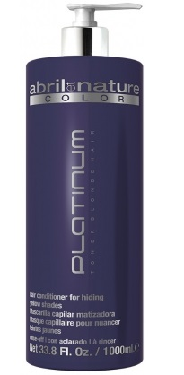 ABRIL ET NATURE PLATINUM TONER BLONDE HAIR 1000 ML