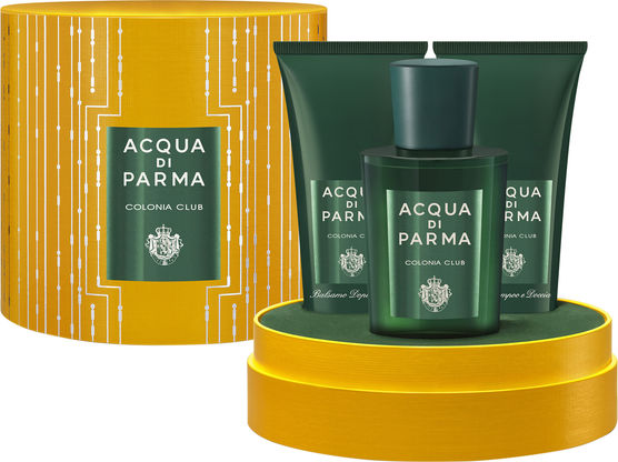 ACQUA DI PARMA COLONIA CLUB EDC 100 ML + S/GEL 75 ML + A/S 75 ML SET REGALO