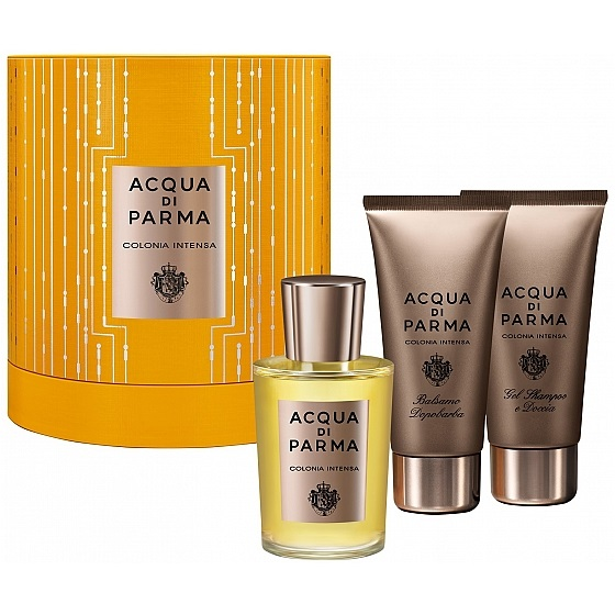 ACQUA DI PARMA COLONIA INTENSA EDC 100 ML VP.+S/GEL 75 ML + A/S BALM 75 ML SET REGALO
