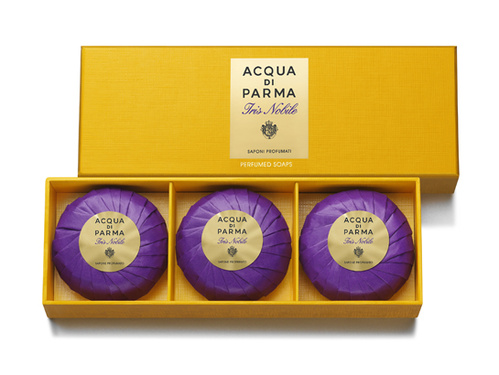 ACQUA DI PARMA IRIS NOBILE SOAP 3 X 80 GR