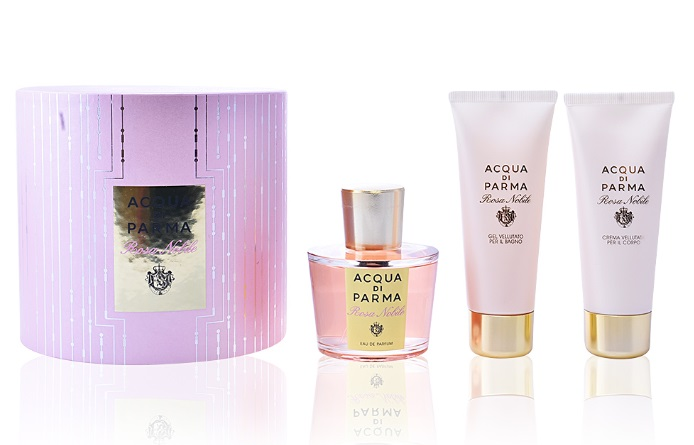 ACQUA DI PARMA ROSA NOBILE EDP 100 ML + SHOWER GEL 75 ML + BODY LOTION 75 ML SET