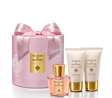 ACQUA DI PARMA ROSA NOBILE EDP 50 ML + SHOWER GEL 50 + BODY CREAM 50 ML