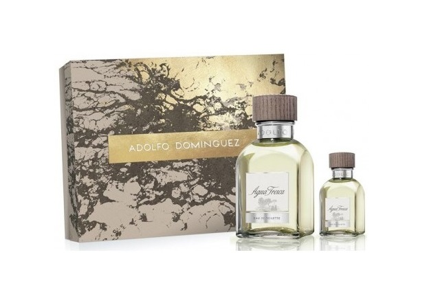 ADOLFO DOMINGUEZ AGUA FRESCA EDT 120 ML VP +EDT 30 ML SET REGALO
