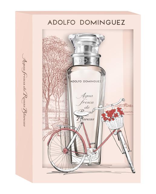 adolfo dominguez agua fresca de rosas blancas eau de