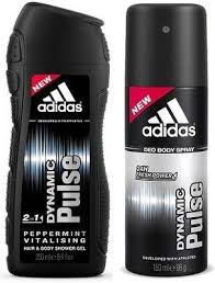 ADIDAS DYNAMIC PULSE AFTER SHAVE 100 ML + GEL 250 ML SET