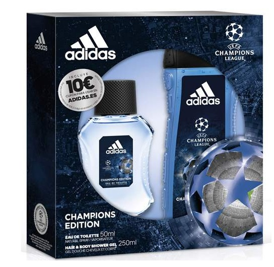 ADIDAS UEFA 4 CHAMPIONS EDITION EDT 50ML + GEL DUCHA 250ML
