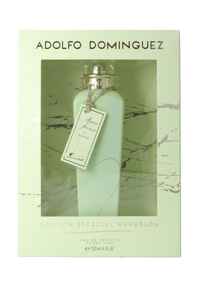 ADOLFO DOMINGUEZ AGUA FRESCA DE AZAHAR ED. COLLECTOR EDT 120 ML VP.