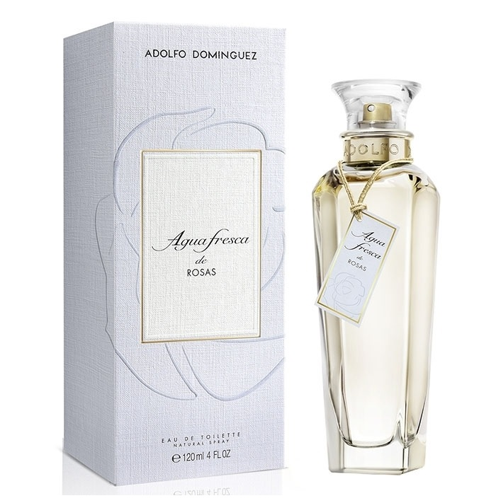 ADOLFO DOMINGUEZ AGUA FRESCA DE ROSAS EDT 200 ML NEW DESIGN