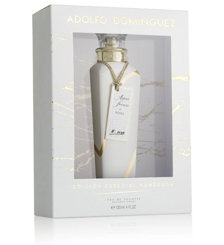 ADOLFO DOMINGUEZ AGUA FRESCA DE ROSAS EDT 120 ML VP. ED COLLECTOR