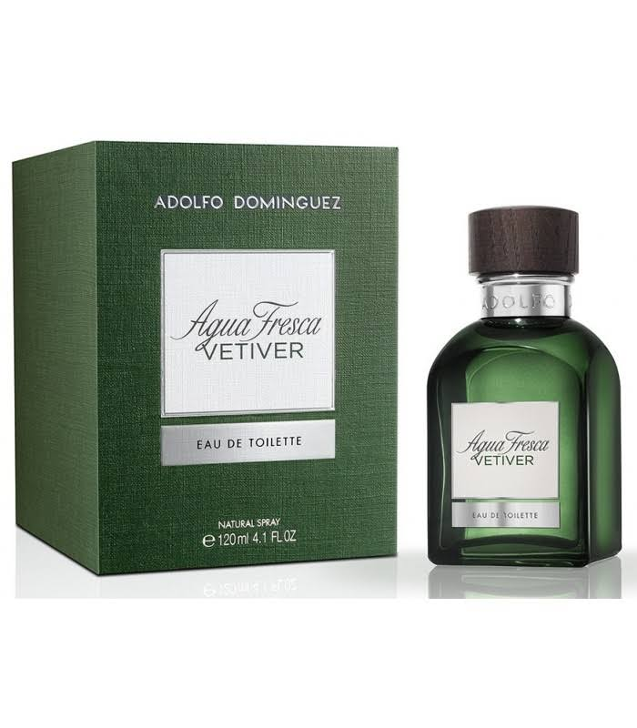 ADOLFO DOMINGUEZ AGUA FRESCA VETIVER EDT 120 ML VP.