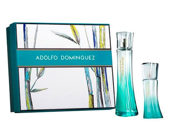 ADOLFO DOMINGUEZ AGUA DE BAMBU WOMAN EDT 100 ML + 50 ML SET REGALO