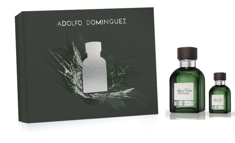 ADOLFO DOMINGUEZ VETIVER EDT 120 ML + EDT 30 ML SET REGALO