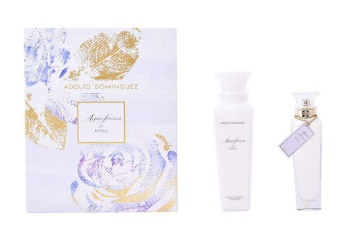 ADOLFO DOMINGUEZ AGUA FRESCA ROSAS EDT 120ML + BODY MILK ESTUCHE