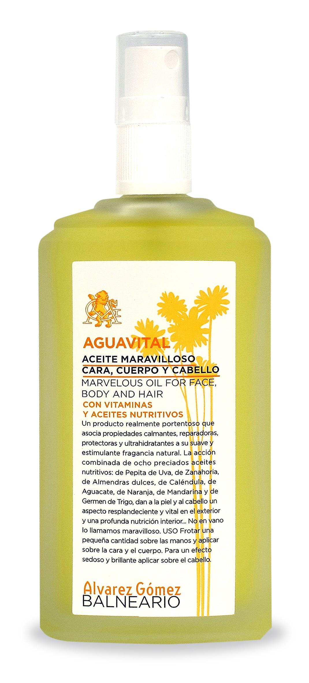 ALVAREZ GOMEZ AGUAVITAL ACEITE CORPORAL 150 ML