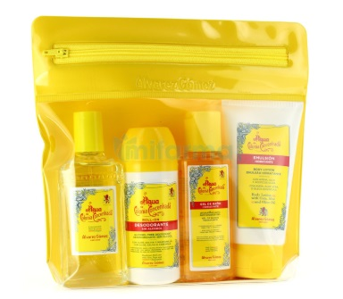 ALVAREZ GOMEZ AGUA DE COLONIA CONCENTRADA 80ML+DEO 75ML+GEL 90ML+B/L 75ML SET VIAJE