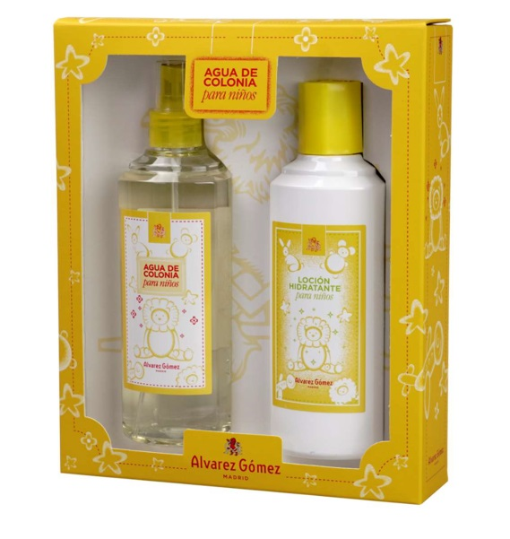 ALVAREZ GOMEZ NIÑOS EDT 300 ML + B/L 300 ML SET REGALO