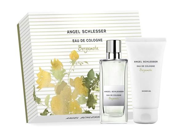 ANGEL SCHLESSER EAU DE COLOGNE BERGAMOTA 100 ML + B/L 100 ML + GEL 100 ML SET