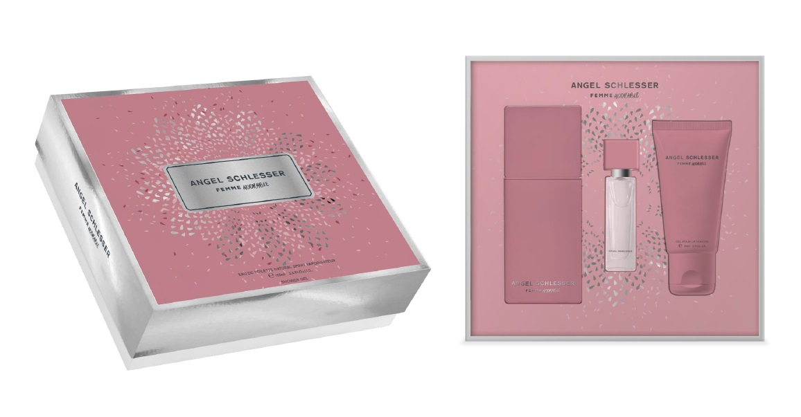 ANGEL SCHLESSER FEMME ADORABLE EDT 100ML + MINI 10 ML + B/L 100 ML SET REGALO