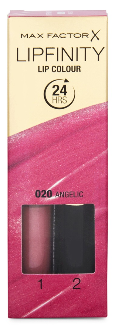 MAX FACTOR LIPFINITY 020 ANGELIC 2.3 ML + 1.9 GR