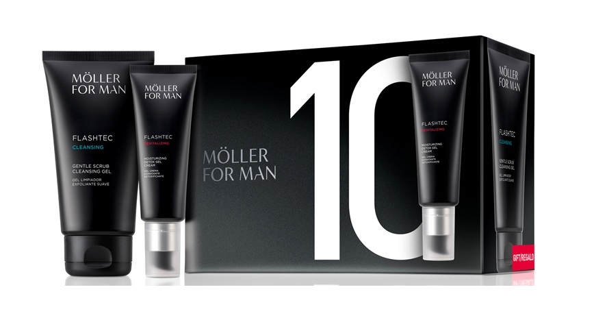 ANNE MOLLER FOR MAN GEL CREMA DETOX 50 ML + LIMPIADOR FACIAL 125 ML SET