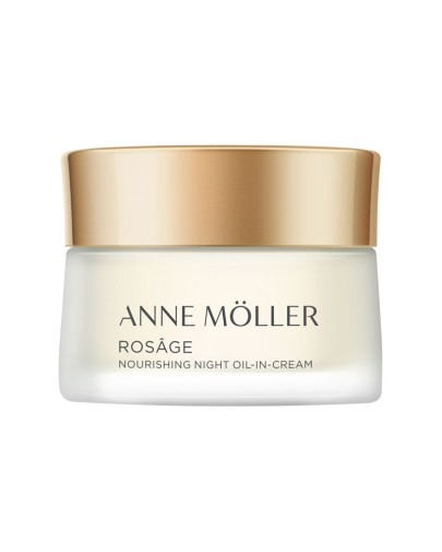 ANNE MOLLER  ROSAGE NIGHT IN OIL CREAM ACEITE EN CREMA NUTRITIVO NOCHE 50 ML