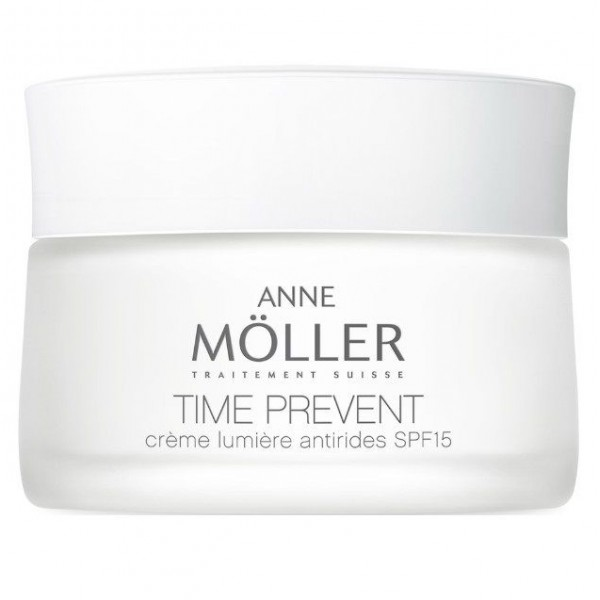 ANNE MOLLER TIME PREVENT CREMA LUMINOSIDAD ANTIARRUGAS 50 ML